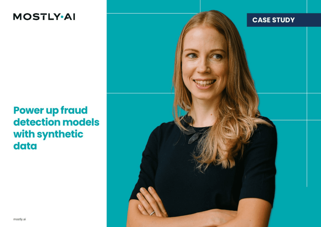 Power up fraud and anomaly detection models with synthetic data